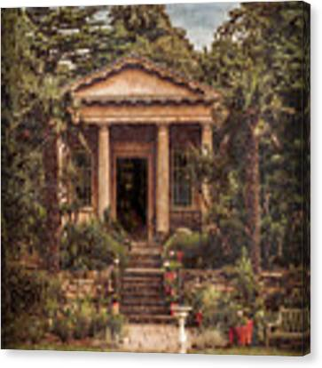 Kew Gardens, England - King William's Temple Canvas Print by Mark Forte