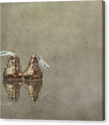 Kisses Canvas Print by Evelina Kremsdorf