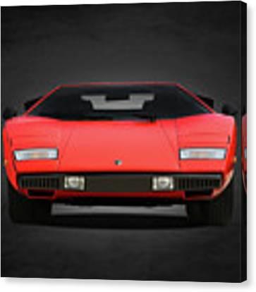 Lamborghini Countach Canvas Print