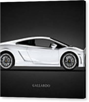 Lamborghini Gallardo Canvas Print