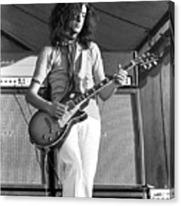 Led Zeppelin Jimmy Page '69 Canvas Print