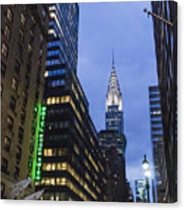 Lexington Avenue, Chrysler Building, New York  Canvas Print by Juergen Held