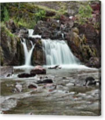 Lower Red Rocks Falls Canvas Print by Jemmy Archer