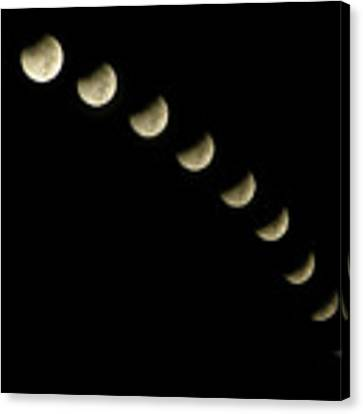 Lunar Eclipse Canvas Print by Okan YILMAZ