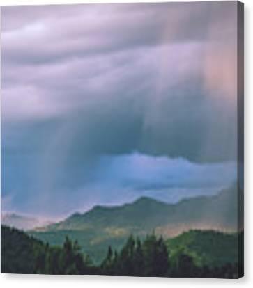Magical Monsoon Light Canvas Print by Jason Coward