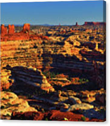 Maze Overlook Canvas Print by Greg Norrell