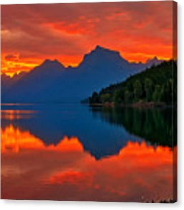 Mcdonald Sunrise Canvas Print by Greg Norrell