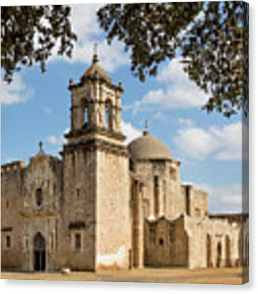 Mission San Jose Canvas Print by Mary Jo Allen