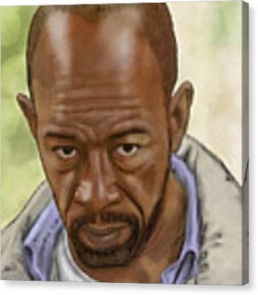 Morgan Canvas Print by Antonio Romero