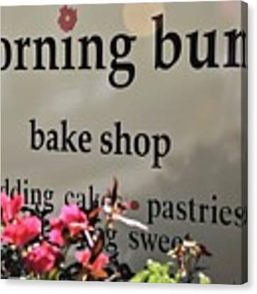 Morning Buns Bake Shop Canvas Print by Kim Bemis