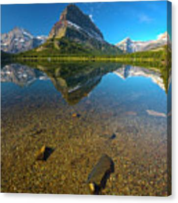Mt. Grinnell Canvas Print by Gary Lengyel