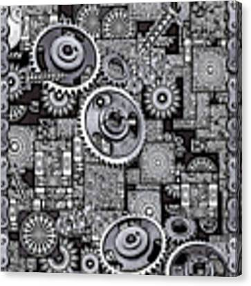 Nuts And Bolts Canvas Print by Eleni Mac Synodinos
