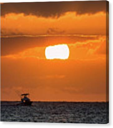 On The Water Canvas Print by David Buhler