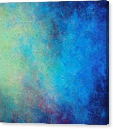 One Verse - Triptych 3 Of 3 Canvas Print by Jaison Cianelli