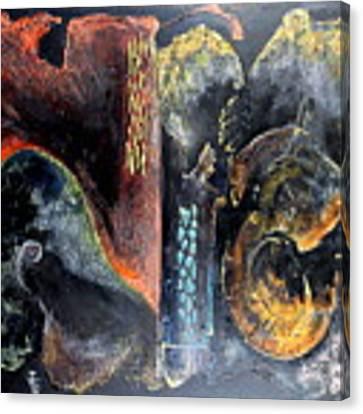 Opus Canvas Print by Farzali Babekhan