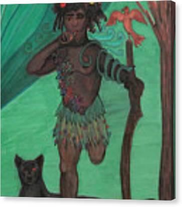 Osain Canvas Print by Gabrielle Wilson-Sealy