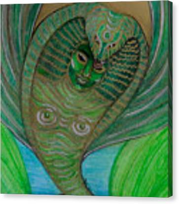 Wadjet Osain Canvas Print by Gabrielle Wilson-Sealy