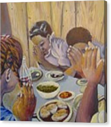 Our Daily Bread Canvas Print by Saundra Johnson