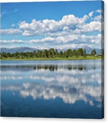 Pagosa Summer Reflections Canvas Print by Jason Coward