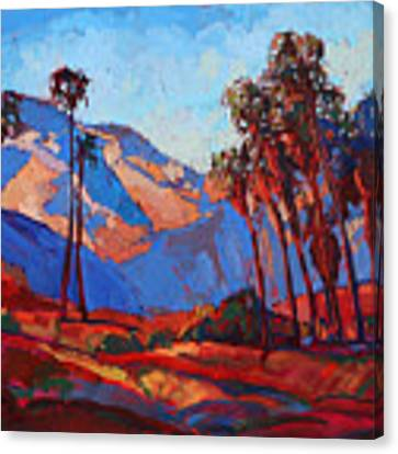 Palm Springs Color Canvas Print by Erin Hanson