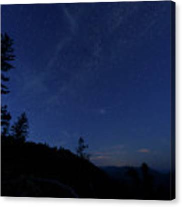 Perseids Meteor Shower 1 Canvas Print by Jim Thompson