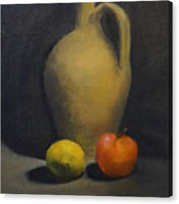 Pitcher This Canvas Print by Genevieve Brown