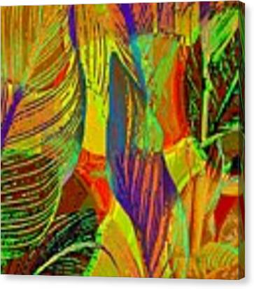 Pop Art Cannas Canvas Print by Deleas Kilgore
