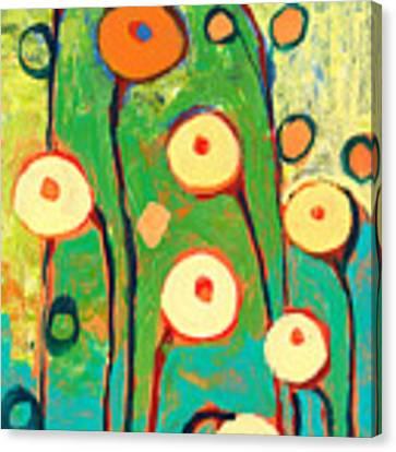 Poppy Celebration Canvas Print