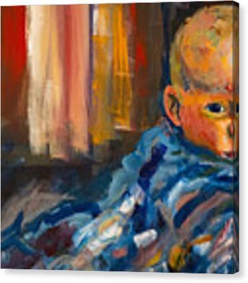 Portrait For A Mother Canvas Print by Angelique Bowman