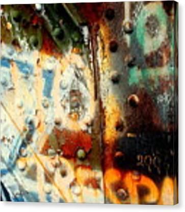 Post Industrial Canvas Print by Farzali Babekhan