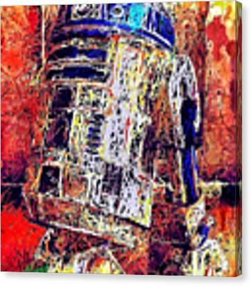 R2 - D2 Canvas Print by Al Matra