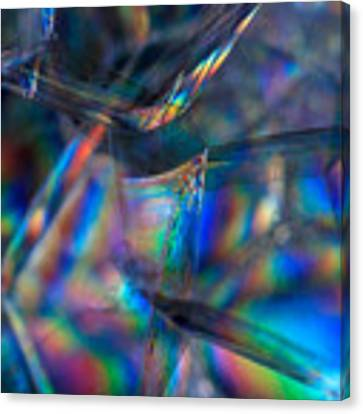 Rainbow In A Bubble Canvas Print by Yogendra Joshi