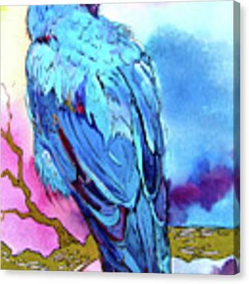 Raven's Sight Canvas Print by Jo Lynch