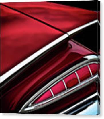 Red Tail Impala Vintage '59 Canvas Print by Douglas Pittman