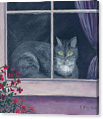Room With A View Canvas Print by Kathryn Riley Parker