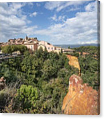 Roussilon Provence  Canvas Print by Juergen Held