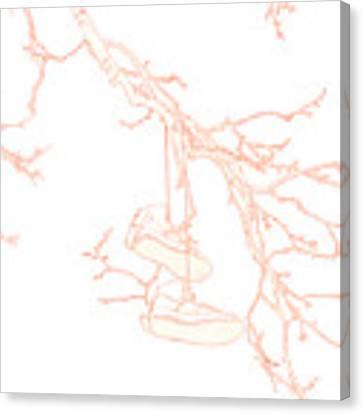 Shoefiti 3036 Canvas Print by Brian Gryphon