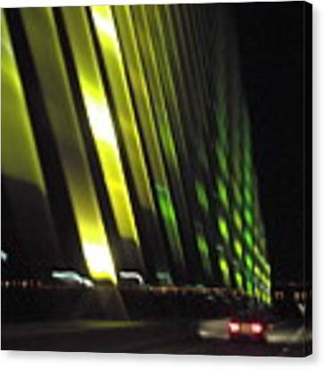 Skyway At Night 5559 Canvas Print by Wesley Elsberry