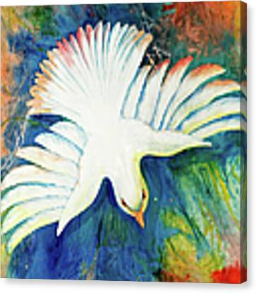 Spirit Fire Canvas Print by Nancy Cupp