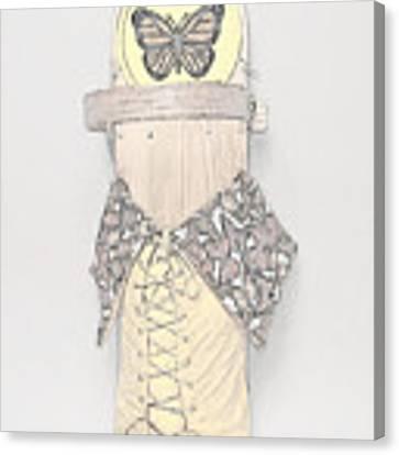 Spring Cradleboard Canvas Print by Douglas K Limon