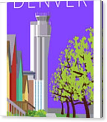 Stapleton Spring Canvas Print by Sam Brennan