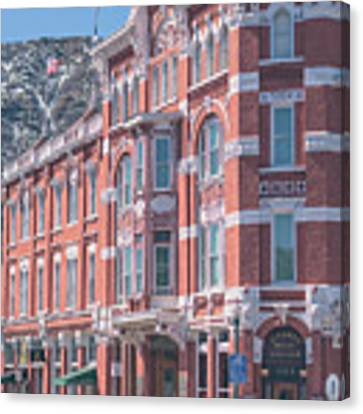 Strater Hotel Canvas Print by Jason Coward