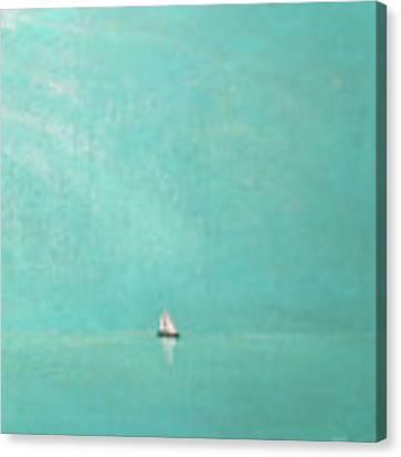 Subtle Atmosphere - Triptych 3 Of 3 Canvas Print by Jaison Cianelli