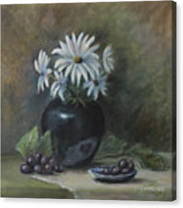 Summer's Delight Canvas Print by Katalin Luczay