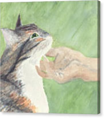 Sweet Spot Canvas Print by Kathryn Riley Parker
