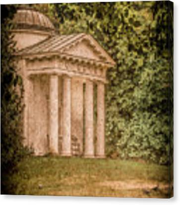 Kew Gardens, England - Temple Of Bellona Canvas Print by Mark Forte