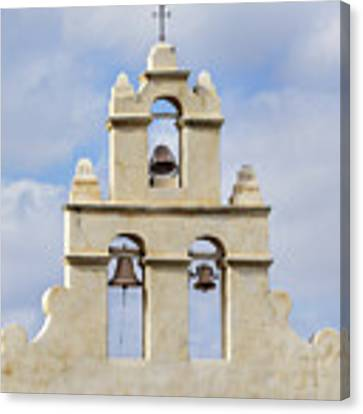 The Bells Of San Juan Canvas Print by Mary Jo Allen
