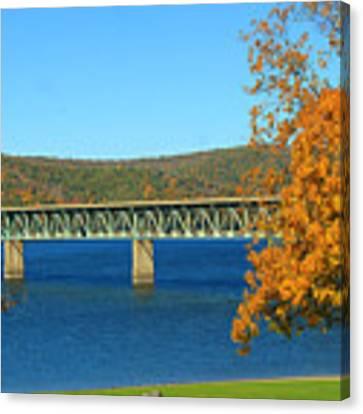 The Bridge Canvas Print by Rick Morgan