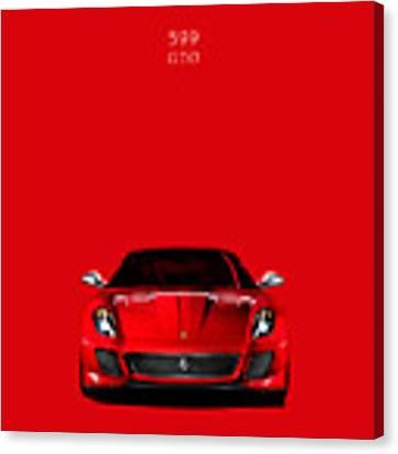 The Ferrari 599 Gto Canvas Print