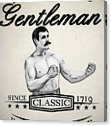 The Fighting Gentlemen Canvas Print by Nicklas Gustafsson
